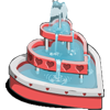 3 Hearts Fountain-icon