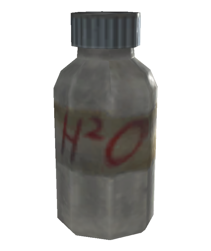 FO3 purified water