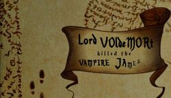Lord Voldemort killed the vampire James