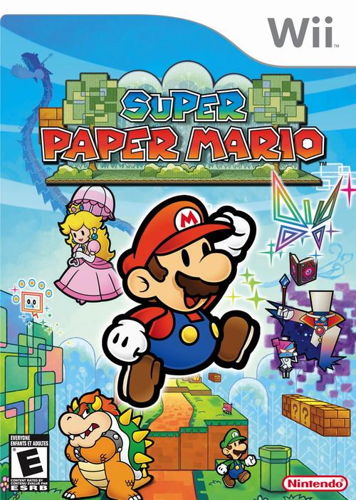 Mario a través del tiempo. Foto_Super_Paper_Mario