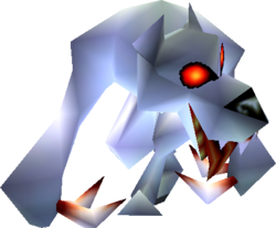 White Wolfos (Ocarina of Time and Majora's Mask)