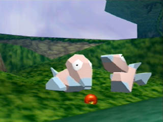 Porygon Comiendo en Pokemon Snap