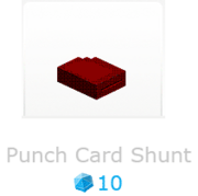 PunchCardShunt