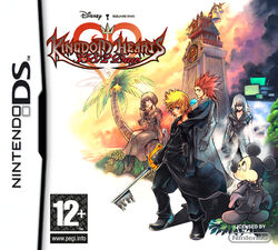 Kingdom hearts 358 2 days carátula