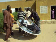 Solar Cooker BS-M2 in Africa