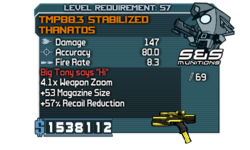 TMP88.3 Stabilized Thanatos