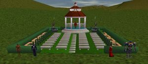 Finished Wedding Area