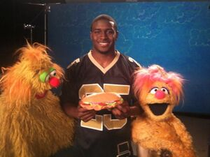 ReggieBush.SesameStreet