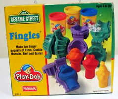 Play doh fingles 1994 set
