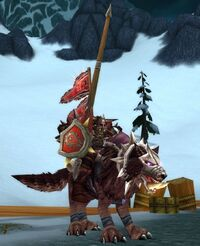 Orgrimmar Valiant mounted
