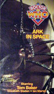 The Ark in Space VHS Australian cover