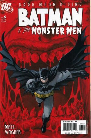 Cover for Batman and the Monster Men #6