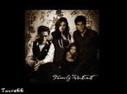 Edward, Bella, Jocab and Rennesme