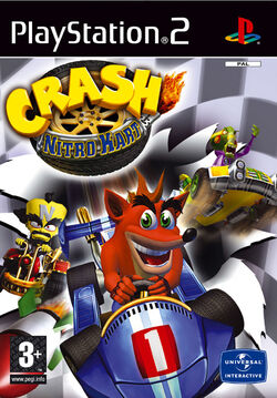 Crash Nitro Kart boxart