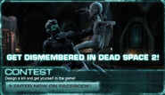 DeadSpace2 Contest Hero