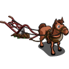 Horse with Plow-icon
