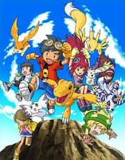 Digimon Story Lost Evolution characters