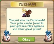 Farmhands mystery egg spring