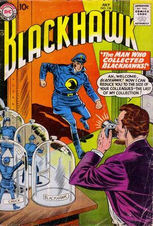 Cover for Blackhawk #126