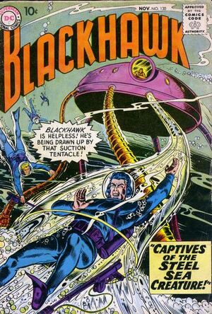 Cover for Blackhawk #130