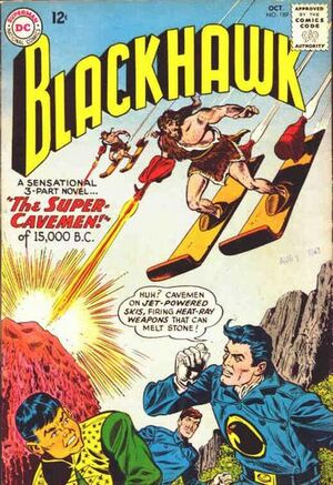 Cover for Blackhawk #189