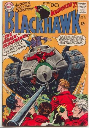Cover for Blackhawk #213