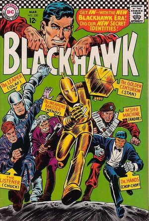 Cover for Blackhawk #230