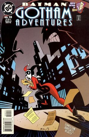 Cover for Batman: Gotham Adventures #10