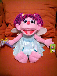 Abby Cadabby at home