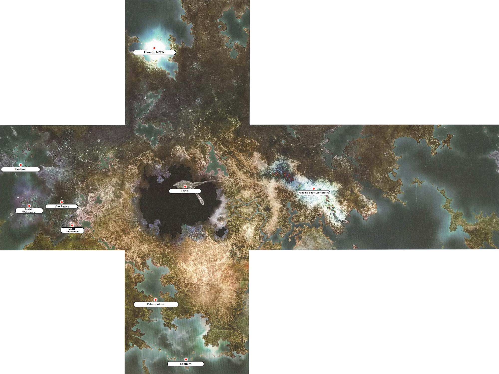 Final Fantasy 13 World Map.Ff13 World Map Dulcineia 38