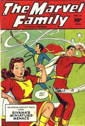 Cover for Marvel Family #34