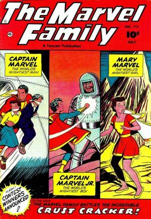 Cover for Marvel Family #73