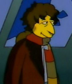 Tom Baker on the Simpsons