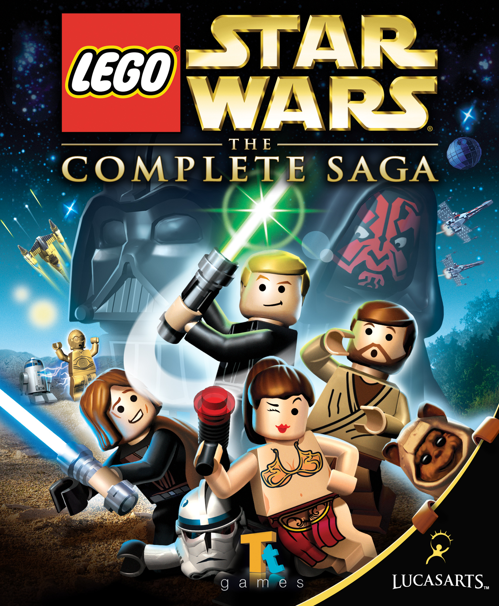 Lego star wars the complete saga wookieepedia the star wars wiki
