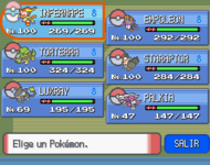 Equipo Pokmon DPPt