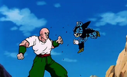 Tenshinhan vs Cell Junior