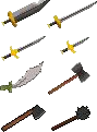 RS Classic Iron Weapons