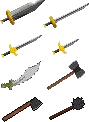 RS Classic Steel Weapons