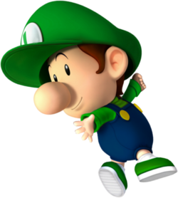 Baby Luigi NSMBDIY