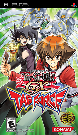 Yu-Gi-Oh! GX Tag Force Coverart