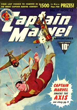 Cover for Captain Marvel Adventures #17