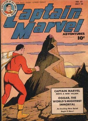 Cover for Captain Marvel Adventures #61