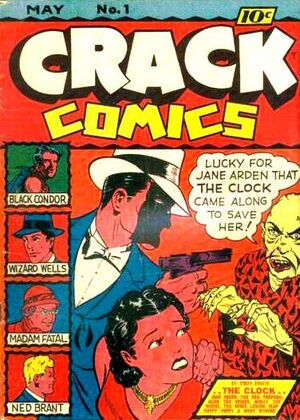Cover for Crack Comics #1