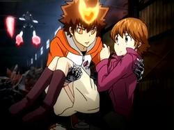 Tsuna Protecting Kyoko