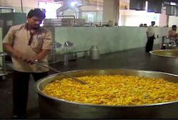 Shirdi cooking photo