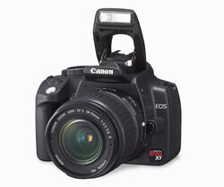 EOS 350D front