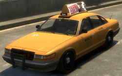 Taxi Vapid GTA IV