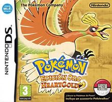 Carátula de Pokémon Edición Oro HeartGold