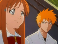 Orihime &amp; Ichigo talk