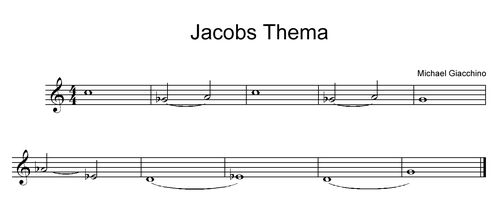 Jacobs Thema